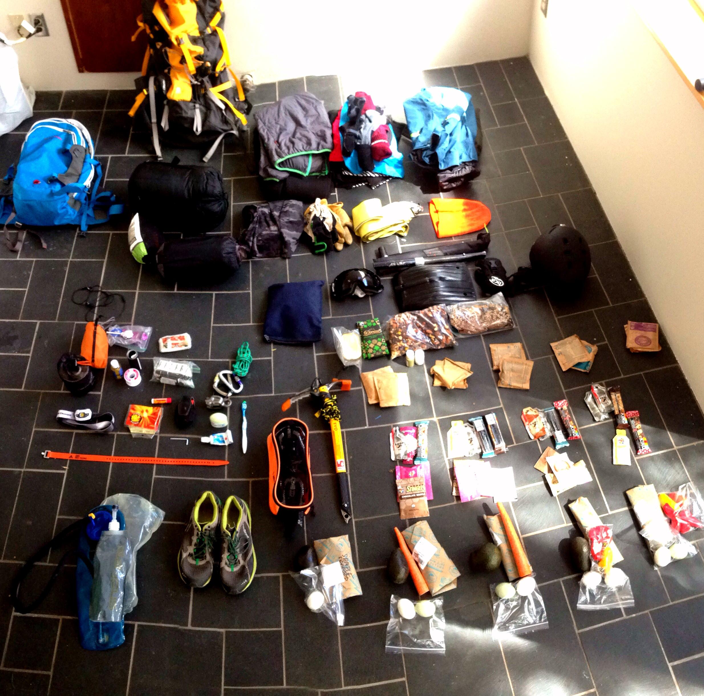 Weminuche Packing