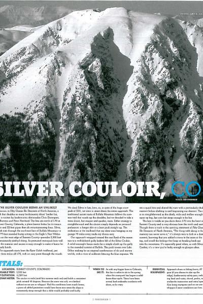 Silver Couloir: Ian Fohrman